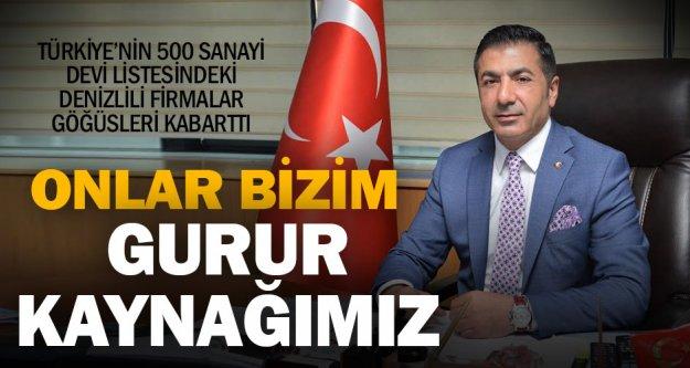 Erdoğan, ilk 500'deki firmaları kutladı