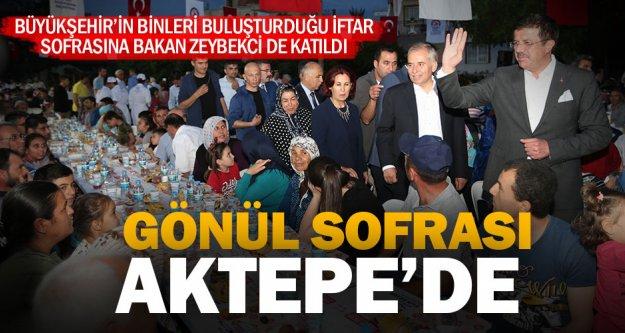 Gönül Sofrası Aktepe'de kuruldu