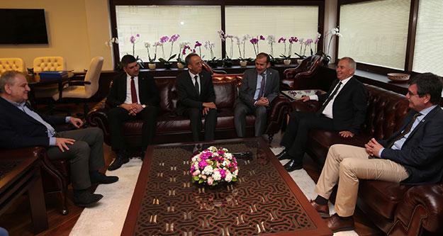 TÜRMOB Başkanından Başkan Zolan'a ziyaret
