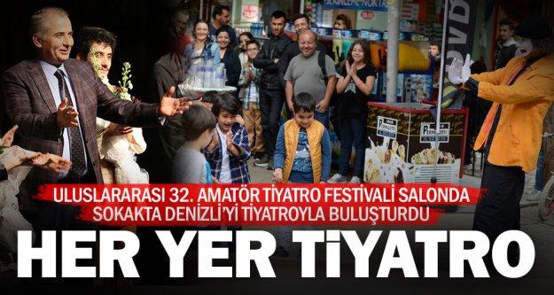 Uluslararası 32. Amatör Tiyatro Festivali sona erdi