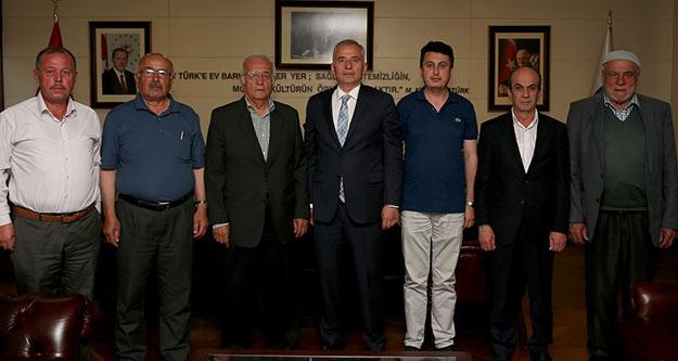 Yatağan ve Yüreğil'den Başkan Zolan'a teşekkür