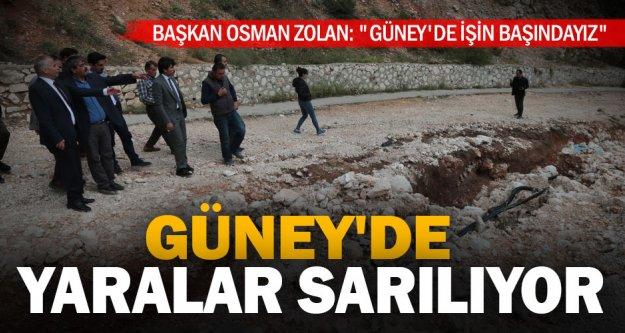 Başkan Osman Zolan: 'Güney'de işin başındayız'