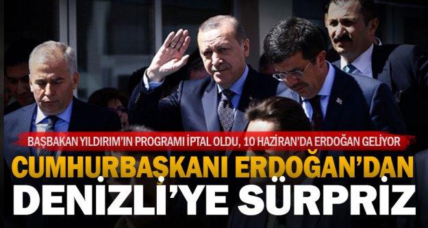Cumhurbaşkanı Erdoğan 10 Haziran günü Denizli'de
