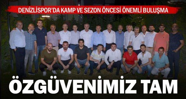 Denizlispor'da yönetim ve teknik heyet buluştu