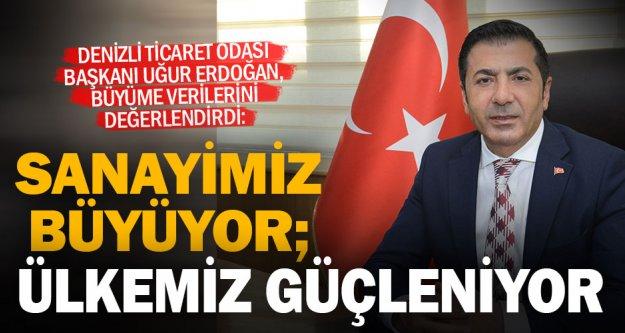DTO Başkanı Erdoğan, büyüme verilerini değerlendirdi