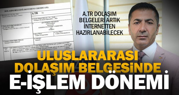 DTO Başkanı Erdoğan: Uluslararası dolaşım belgeleri artık daha kolay