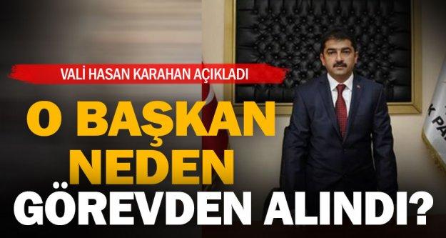 Erkan Hayla, hakkındaki davalar nedeniyle görevden alınmış