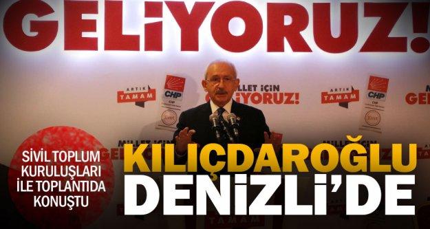 Kılıçdaroğlu: Türkiye'ye dolar yağdıracağız
