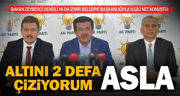 Zeybekci: Denizli veya İzmir belediye başkanlığıyla ilgili düşüncem yok