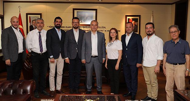 BASİAD'ın yeni yönetiminden ziyaret