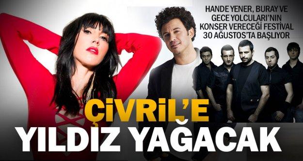 Çivril'deki festivale ünlü sanatçılar katılacak