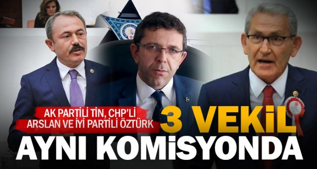 Denizli'nin üç vekiline aynı komisyonda görev