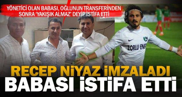 Denizlispor'da Recep transferi istifa getirdi