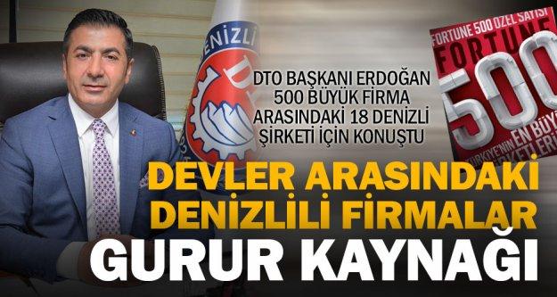 DTO Başkanı Erdoğan, başarılı firmaları kutladı