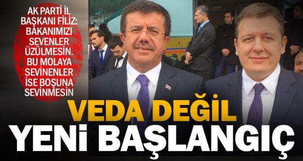 Filiz'den Bakan Zeybekci açıklaması: Bu bir veda değil