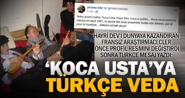 Hayri Dev'i keşfeden Fransız araştırmacıdan Türkçe mesaj