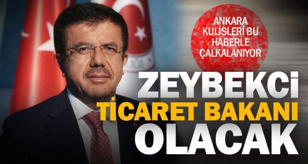 Zeybekci, yeni sistemin ilk Ticaret Bakanı oluyor