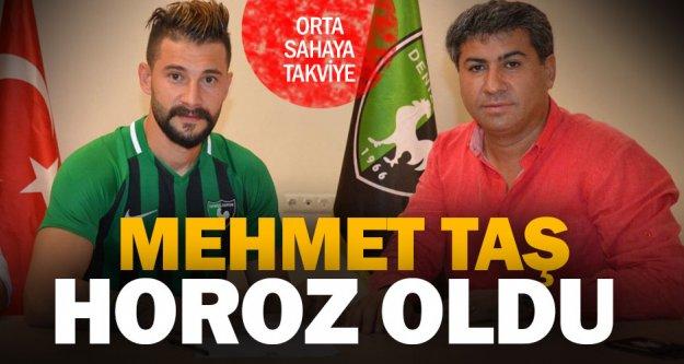 Denizlispor, Mehmet Taş'ı renklerine bağladı