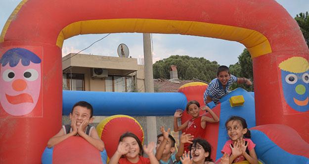 Sarayköylü çocuklara 11 günlük şenlik