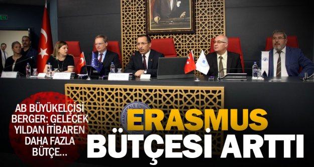 AB Büyükelçisi Berger: Erasmus'un bütçesini artırdık