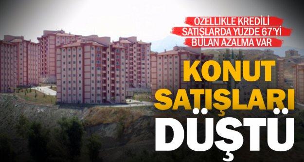 Denizli'de konut satışları yüzde 13 ila 67 arasında düştü