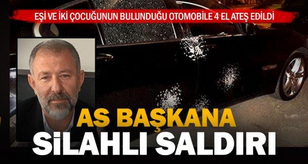 Denizlispor As Başkanı Necip İrdem ve ailesinin bulunduğu otomobile ateş açıldı