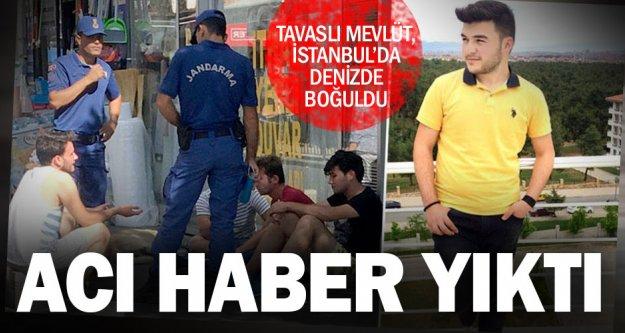 İstanbul'dan Tavas'a acı haber