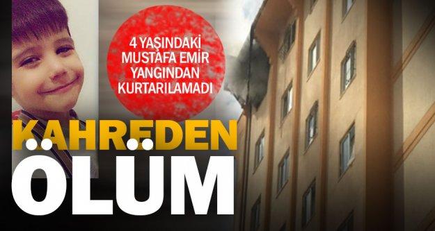 Karşıyaka'daki yangında 4 yaşındaki çocuk öldü