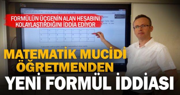 Matematik öğretmeni Ethem Deynek'ten matematikte yeni formül iddiası
