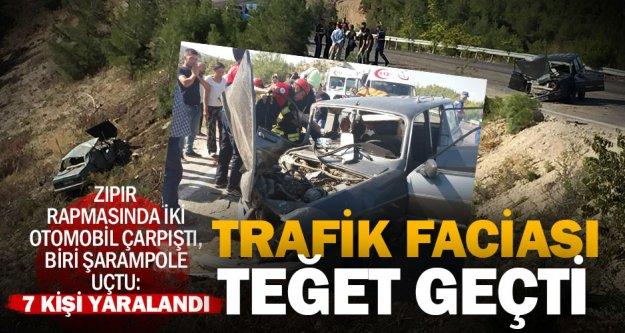 Zıpır rampasındaki kazada 7 kişi yaralandı
