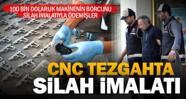 CNC makinesi ile tabanca yapan 2 kişi tutuklandı