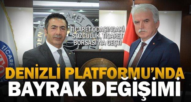 Denizli Platformu'nda sözcü Ticaret Borsası oldu