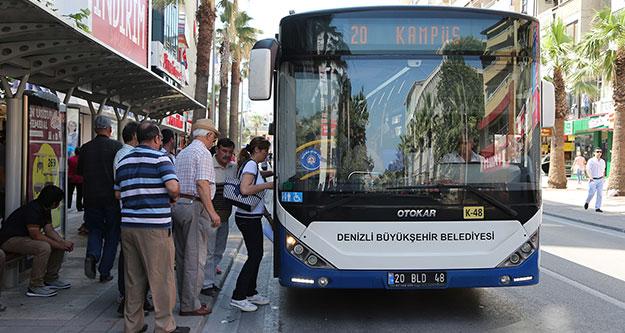 Otobüsler KPSS' ye gireceklere ücretsiz
