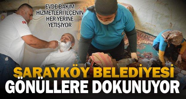 Sarayköy Belediyesi gönüllere dokunuyor