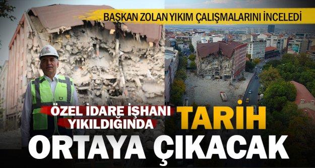 Tarihi doku Büyükşehir ile ortaya çıkacak