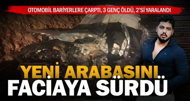 Tavas-Karacasu kavşağında kaza: 3 ölü, 2 yaralı