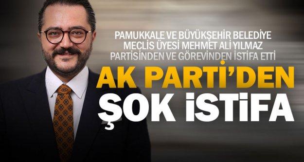 Ak Partili meclis üyesi Yılmaz partisinden ve görevinden istifa etti