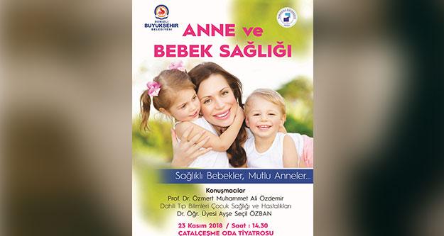 'Anne ve Bebek Sağlığı Semineri'ne davet