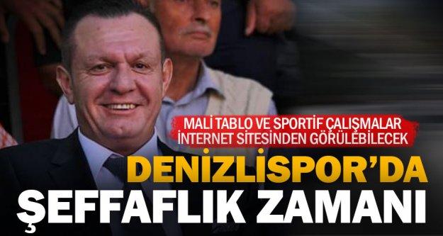 Çetin: 'Denizlispor şeffaf olacak'