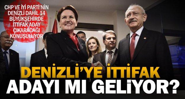 CHP - İYİ Parti Denizli'de ittifak adayı çıkaracak iddiası