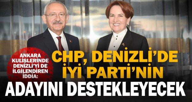 CHP- İYİ Parti ittifakında, Denizli detayı
