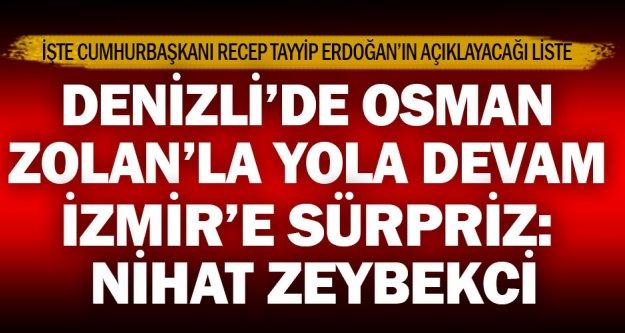 Denizli Büyükşehir Osman Zolan'la yola devam, İzmir'e Zeybekci