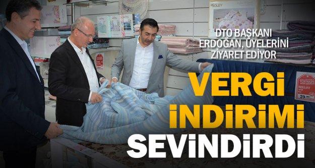 DTO Başkanı Erdoğan'dan üyelerini ziyaret