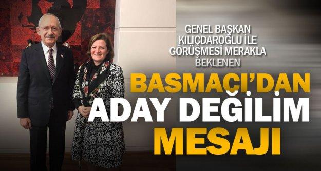 Eski milletvekili Basmacı'dan 'Büyükşehir'e aday değilim' mesajı