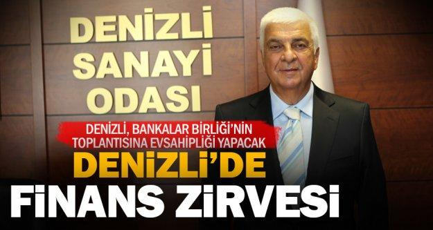 Finans sektörünün kalbi Denizli'de atacak