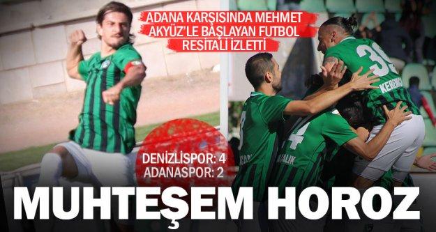 Gol düellosu Horoz'un: Denizlispor: 4 – Adanaspor: 2