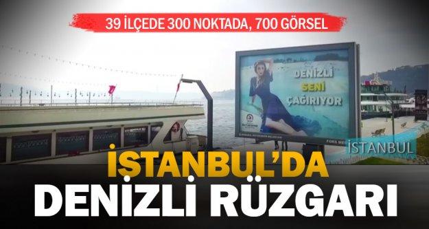 İstanbul'da Denizli rüzgarı esiyor