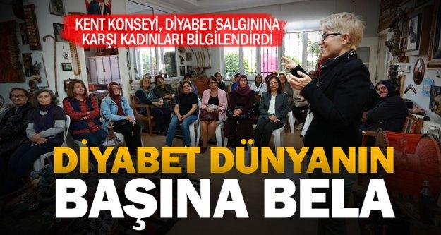 Kadın Meclisi'nden kadınlara diyabet eğitimi