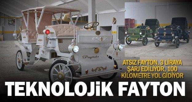 Teknolojik fayton 'Payitaht'