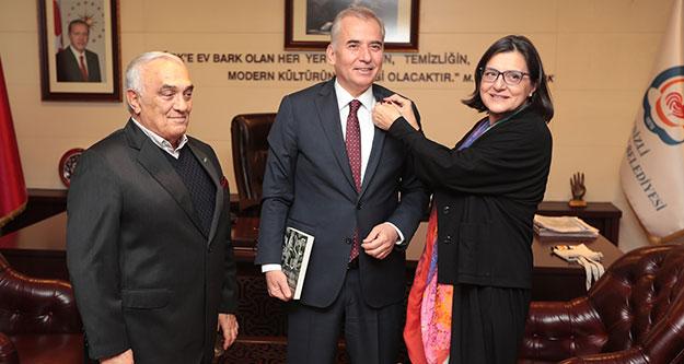 TEMA'dan Başkan Osman Zolan'a ziyaret